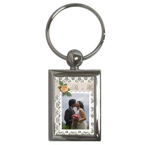 Key Chain (rectangle)    This Is Us By Jennyl   Key Chain (rectangle)   D9pr28auuj9t   Www Artscow Com Front