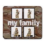 Sand Camo Family Mouse mat - Large Mousepad