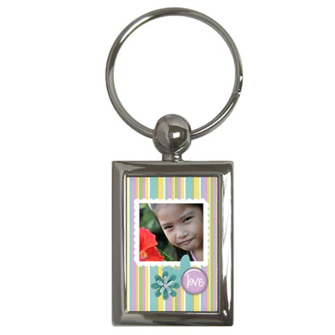 Key Chain (rectangle)   Flowers12 By Jennyl   Key Chain (rectangle)   86esio20gwjd   Www Artscow Com Front