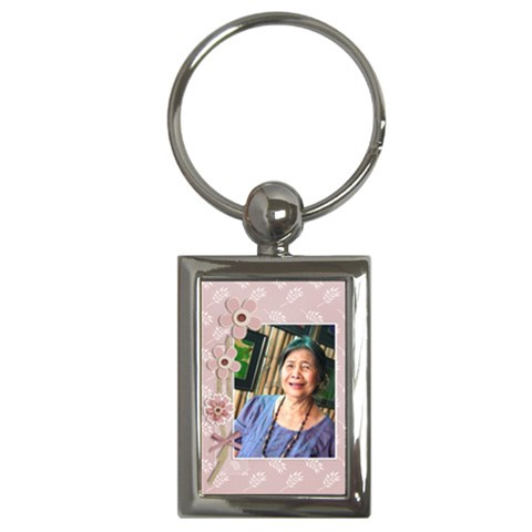 Key Chain (rectangle)   Mom 2 By Jennyl   Key Chain (rectangle)   8v0n1n38x7sx   Www Artscow Com Front