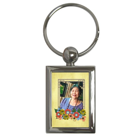 Key Chain (rectangle)   Mom 3 By Jennyl   Key Chain (rectangle)   Jf83uy5pxanh   Www Artscow Com Front