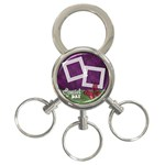 Butterflies -  Key chain - 3-Ring Key Chain