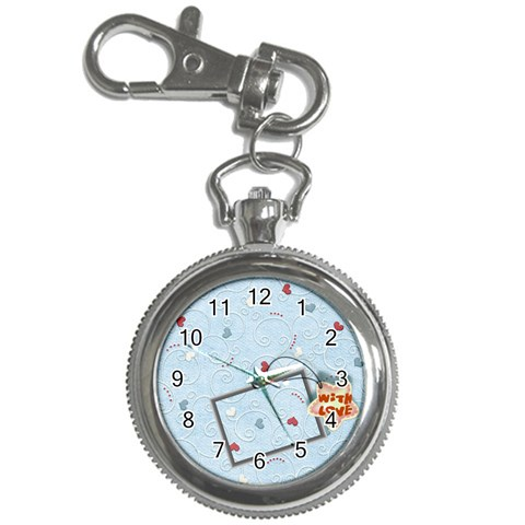 With Love   Blue By Daniela   Key Chain Watch   Iu84y956odr9   Www Artscow Com Front