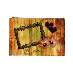 I Heart You Be Mine Autumn Large Cosmetic Bag - Cosmetic Bag (Large)