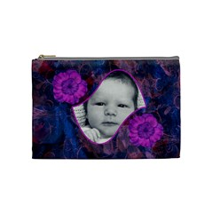 New Year Medium Cosmetic Case By Joan T   Cosmetic Bag (medium)   Ctf8ljjotrly   Www Artscow Com Front