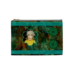 New Year Medium Cosmetic Case 2 By Joan T   Cosmetic Bag (medium)   9v7p25fnqea3   Www Artscow Com Front