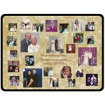 Nana and Papa - Fleece Blanket (Large)