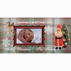 Santa Brought Us The Best Present In 2010 8x4 Photo Card By Ellan   4  X 8  Photo Cards   V9c23ra3bco5   Www Artscow Com 8 x4 Photo Card - 2
