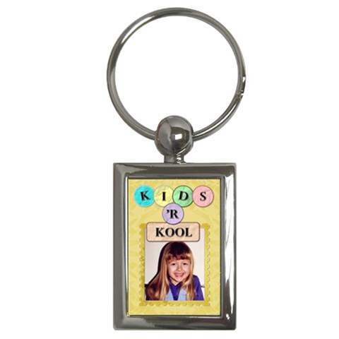 Kids  r Kool Key Chain By Lil    Key Chain (rectangle)   2d8bs538rgob   Www Artscow Com Front
