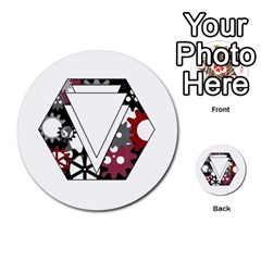 Fate Points By Peter Cobcroft   Multi Purpose Cards (round)   E9dltvytuecl   Www Artscow Com Back 31