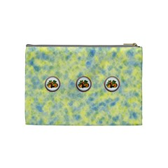 Summer Fun Medium Cosmetics Case By Joan T   Cosmetic Bag (medium)   Fxln8r1tlkx5   Www Artscow Com Back