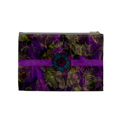 New Year Medium Cosmetics Case 3 By Joan T   Cosmetic Bag (medium)   Qaje3d7hd2bx   Www Artscow Com Back