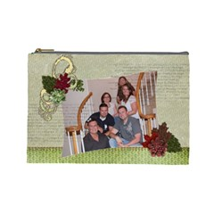 Family By Shannon Kellogg   Cosmetic Bag (large)   Mg424rol7qvt   Www Artscow Com Front