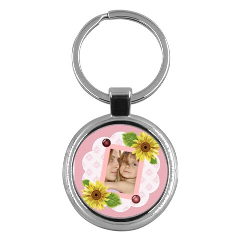 Kids By Wood Johnson   Key Chain (round)   Gv38q6mhiakr   Www Artscow Com Front