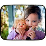 mini blanket Robbyn - Mini Fleece Blanket(Two Sides)