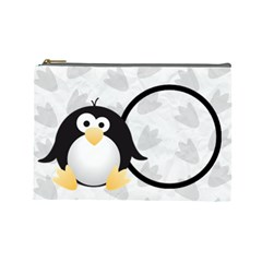 Animaland Cosmetic Bag L 02 By Carol   Cosmetic Bag (large)   86yyp5fwxli6   Www Artscow Com Front