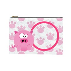 Animaland Cosmetic Bag L 04 By Carol   Cosmetic Bag (large)   Vp2mj03v0oe6   Www Artscow Com Front