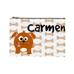 Animaland Cosmetic Bag L 05 By Carol   Cosmetic Bag (large)   Uipxw448a3d2   Www Artscow Com Front