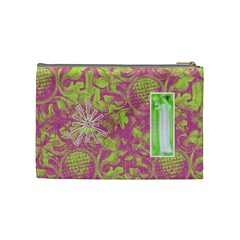 Bubblegum Medium Cosmetic Case by Joan T Back
