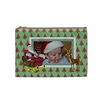 Here Comes Santa cosmetic bag (medium) 2
