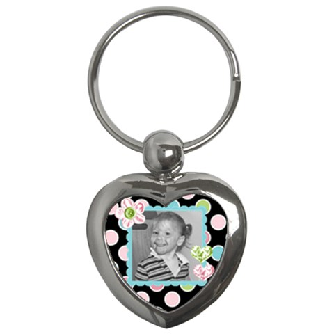 Heart Key Chain By Martha Meier   Key Chain (heart)   T8mpg13sccbr   Www Artscow Com Front