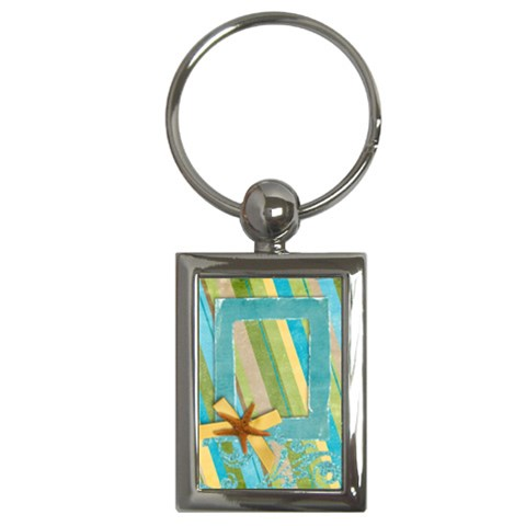 Tropical   Key Chain By Mikki   Key Chain (rectangle)   Yqyfhh4lr3ld   Www Artscow Com Front