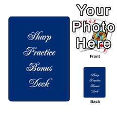 Awi Pack 8 By Jonathan Davenport   Multi Purpose Cards (rectangle)   F00oq56czldk   Www Artscow Com Back 1