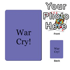 Awi Pack 8 By Jonathan Davenport   Multi Purpose Cards (rectangle)   F00oq56czldk   Www Artscow Com Front 34