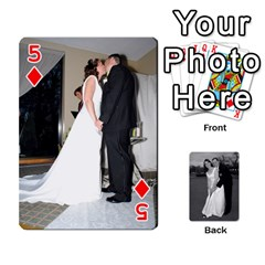 Melissa & Patrick Wedding Photos By Patrick Newport   Playing Cards 54 Designs   T8otir7i53ux   Www Artscow Com Front - Diamond5