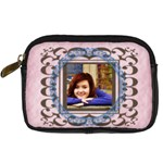 Framed Camera Case PINK - Digital Camera Leather Case