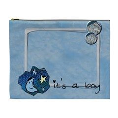 It s A Boy   Cosmetic Bag (xl) By Carmensita   Cosmetic Bag (xl)   B47zbxpuu50d   Www Artscow Com Front