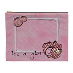 IT S A GIRL - Cosmetic Bag (XL)