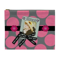 Diva Cosmetic Bag Xl By Danielle Christiansen   Cosmetic Bag (xl)   4emjm60b2i28   Www Artscow Com Front