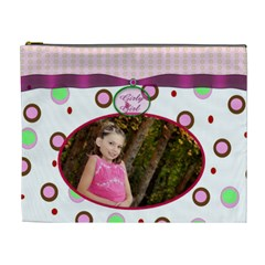 Girly Girl Xl Cosmetic Bag By Danielle Christiansen   Cosmetic Bag (xl)   Xiqrjx2e3fqn   Www Artscow Com Front