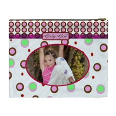 Girly Girl Xl Cosmetic Bag By Danielle Christiansen   Cosmetic Bag (xl)   Xiqrjx2e3fqn   Www Artscow Com Back