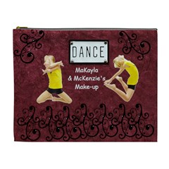 Dance Cosmetic Bag For Recitals By Danielle Christiansen   Cosmetic Bag (xl)   Eannsqjoak4y   Www Artscow Com Front