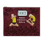 dance cosmetic bag for recitals - Cosmetic Bag (XL)