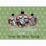 Ornament card - 5  x 7  Photo Cards
