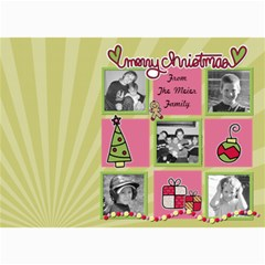 Mulit Photo Christmas Card By Martha Meier   5  X 7  Photo Cards   64gp9hiuwn86   Www Artscow Com 7 x5 Photo Card - 1