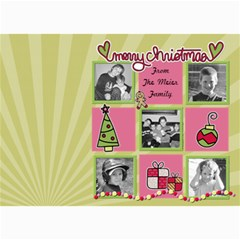 Mulit Photo Christmas Card By Martha Meier   5  X 7  Photo Cards   64gp9hiuwn86   Www Artscow Com 7 x5 Photo Card - 7