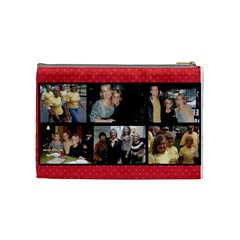 Test2 By Katie   Cosmetic Bag (medium)   7qtawr1u32zq   Www Artscow Com Back