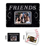 Friends Playing Cards - Playing Cards Single Design