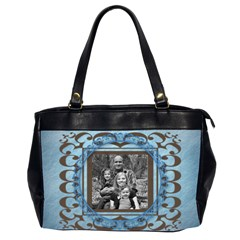 Oversized Office Bag By Amanda Bunn   Oversize Office Handbag (2 Sides)   Mgwpboq1xuec   Www Artscow Com Front