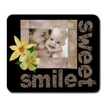 sweet smile mousemat - Large Mousepad