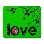 acid lime love  mousemat - Large Mousepad