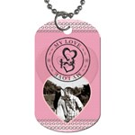 My Love 1-Sided Dog Tag - Dog Tag (One Side)