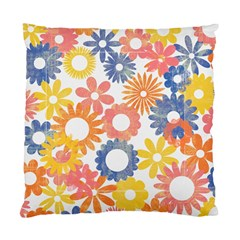 Bright Floral Pillow By Mikki   Standard Cushion Case (two Sides)   Jflbct9zn3sf   Www Artscow Com Front