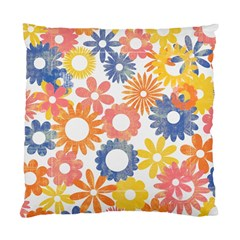 Bright Floral Pillow By Mikki   Standard Cushion Case (two Sides)   Jflbct9zn3sf   Www Artscow Com Back