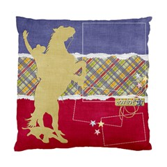 Cowboy Cowgirl, Pillow By Mikki   Standard Cushion Case (two Sides)   Ftxpoa71itpy   Www Artscow Com Front