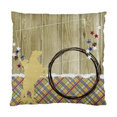 Cowboy Cowgirl, Pillow By Mikki   Standard Cushion Case (two Sides)   Ftxpoa71itpy   Www Artscow Com Back